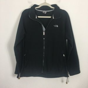 The North Face Black Fleece Zip Up Jacket
